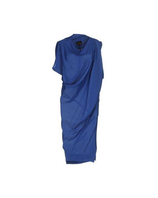Vivienne Westwood Anglomania | Женское Синее Платье Длиной 3/4